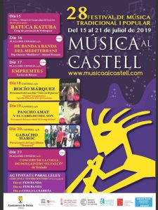 Music Week at Denia Castle @ Denia Castle | Dénia | Comunidad Valenciana | Spain