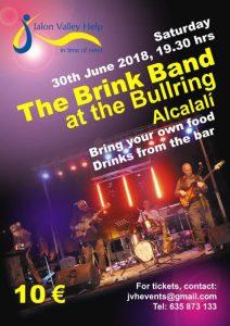 Music with The Brink for Jalon Valley Help @ The Bullring, Alcalali | Ondara | Comunidad Valenciana | Spain