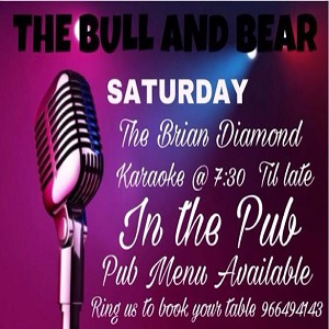 Karaoke with Brian Diamond at Bull and Bear Benitachell @ Bull and Bear | El Poble Nou de Benitatxell | Comunidad Valenciana | Spain