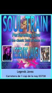 Soul Train at Legends Bar @ Legends Sports Bar   Xàbia   Comunidad Valenciana   Spain