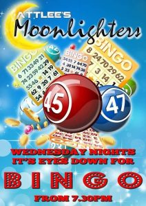 Bingo at Attlees Moonlighters @ Attlee's Moonlighters | Teulada | Comunidad Valenciana | Spain