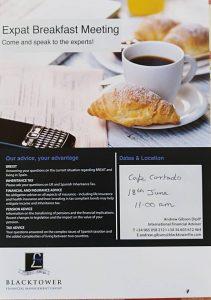 Expat Breakfast Meeting at Cafe Cortado's @ Cafe Cortado's | Xàbia | Comunidad Valenciana | Spain