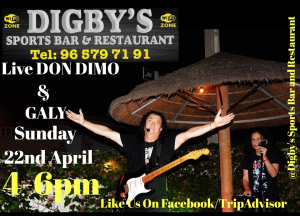 Don Dimo and Galy at Digby's @ Digby's Sports Bar | Platja de l'Arenal | Comunidad Valenciana | Spain
