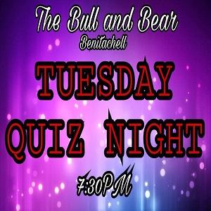 Quiz Night at the Bull and Bear with Shorty B. @ Bull and Bear | El Poble Nou de Benitatxell | Comunidad Valenciana | Spain