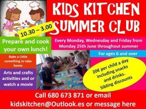 Kids Kitchen Summer Club @ Kid's Kitchen | Teulada | Comunidad Valenciana | Spain