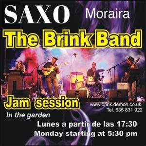 Brink Band Jam Session at Saxo Gardens, Moraira @ Saxo Disco Garden Chill Out | Moraira | Comunidad Valenciana | Spain