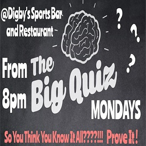 The Big Digby's Quiz @ VARIOUS BARS - SEE BELOW | Arlington Heights | Illinois | United States