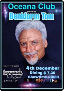 Tom Jones Tribute at Oceana Club @ Oceana Club | Comunidad Valenciana | Spain