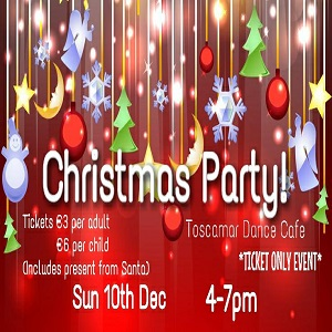 Children's Christmas Party at Toscamar @ Toscamar Dance Cafe | Jávea | Comunidad Valenciana | Spain