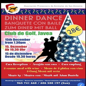 Christmas Ball in Aid of Apasa @ Club de Golf | Jávea | Spain