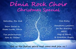 Denia Rock Choir Christmas Special @ Hostal Loreto | Dénia | Comunidad Valenciana | Spain