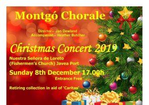 Montgó Chorale Christmas Concert @ Church of Our Lady of Loreto | Jávea | Comunidad Valenciana | Spain
