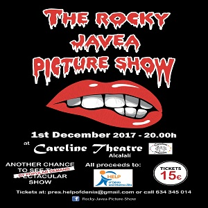 Rocky Javea Picture Show at Careline Theatre