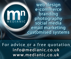 medianic web design