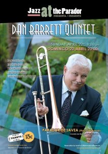 Can Barrett Quintet. Jazz at the Parador @ Parador Javea | Xàbia | Spain