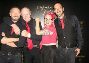 Black Glitter Band at Saxo Gardens, Moraira @ Saxo Disco Garden Chill Out | Moraira | Comunidad Valenciana | Spain