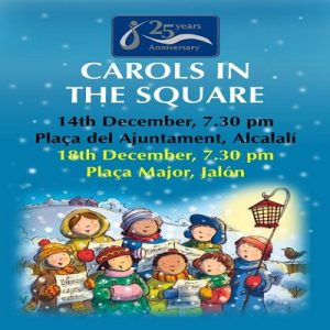 Carols in The Square, Alcalali @ See poster