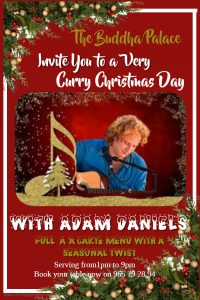 Christmas Day with Adam Daniels at Buddha Palace @ Buddha Palace | Xàbia | Spain