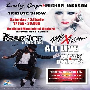 Lady Gaga and Michael Jackson Tribute Show @ Auditorium Ondara | Ondara | Comunidad Valenciana | Spain