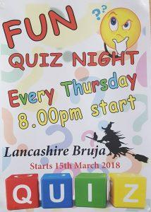 Quiz Night at Lancashire Bruja!! @ Lancashire Bruja  ( and a nearby sea!) | Jávea | Comunidad Valenciana | Spain