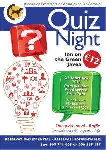 APASA Quiz Night at Inn On The Green @ Inn on The Green | Xàbia | Comunidad Valenciana | Spain