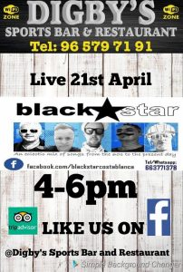 Black Star at Digby's @ Digby's Sports Bar | Platja de l'Arenal | Comunidad Valenciana | Spain