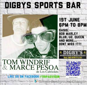 Los Cabriolets  at Digby's @ Digby's Sports Bar | Platja de l'Arenal | Comunidad Valenciana | Spain