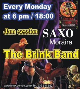 Brink Band Jam Session @ Saxo Disco Garden Chill Out | Moraira | Comunidad Valenciana | Spain