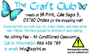 Being Crafty! @ SR Print | Ondara | Comunidad Valenciana | Spain