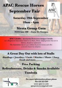 APAC September Fair @ Siesta Group | Gata de Gorgos | Comunidad Valenciana | Spain