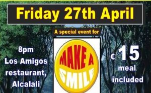 Make-A-Smile Event with OK Band @ Los Amigos Bar Rte. | Alcalalí | Comunidad Valenciana | Spain