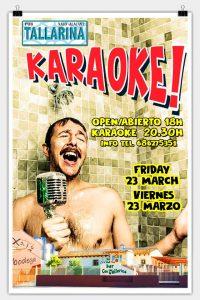 Karaoke with Steve Solo at Tallarena @ Tallarena | Xaló | Comunidad Valenciana | Spain