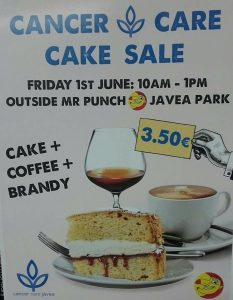 Cake, Coffee and a Tipple for Just €3.50 at at Mr Punch, Javea @ Mr Punch