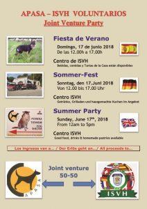Apasa- ISVH Joint Summer Party @ ISVH Centre | Comunidad Valenciana | Spain