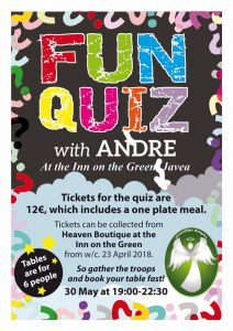 Quiz for Guardian Angels at Inn on the Green