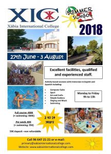 Summer Camps at Xabia International College @ XIC | Jávea | Comunidad Valenciana | Spain