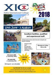 Summer Camps at Xabia International College @ XIC | Jávea | Comunidad Valenciana | Spain