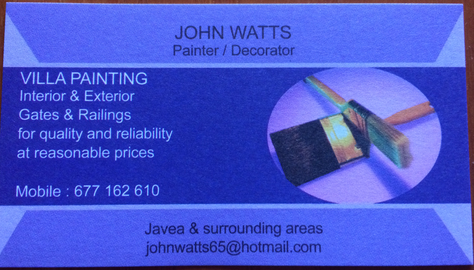 John Watts Painter & Decorator