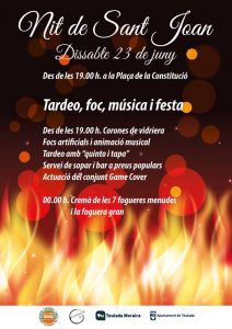 Celebrate the Most Magical and Shortest Night of the Year in Moraira @ Teulada | Comunidad Valenciana | Spain
