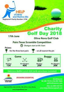 Charity Golf Day @ Oliva Nova Golf Club | Oliva | Comunidad Valenciana | Spain