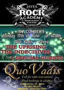 Rock AcademyConcert at Bar Quo Vadis @ Quo Vadis | Jávea | Comunidad Valenciana | Spain
