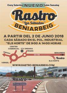 Beniarbeig Rastro Market @ Beniarbeig | Spain