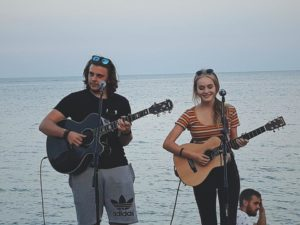 Jack and Daisy at The Beach House @ The Beach House, Javea Port | Xàbia | Comunidad Valenciana | Spain