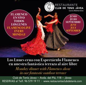 Flamenco Monday @ Club de Tenis   Xàbia   Comunidad Valenciana   Spain