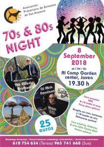 60/70/80s Night In Aid of Apasa @ Art Al Camp Garden Centre   Jávea   Comunidad Valenciana   Spain