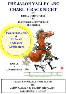 Charity Race Night at El Cid @ El Cid Bar & Restaurant | Ondara | Comunidad Valenciana | Spain