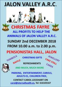 Jalon Valley ARC Christmas Fair @ Pensionistas Hall | Jalón | Valencian Community | Spain