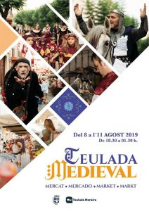 4 Day Medieval Market in Teulada @ Teulada Town Centre | Teulada | Valencian Community | Spain