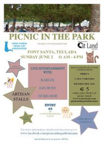 Picnic In the Park with Ian Hunt, Gingerlele and Rob Johnson @ Park Area Next to Go Karts | Teulada | Comunidad Valenciana | Spain