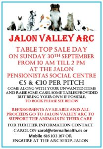 Jalon Valley ARC Table Top Sale @ Pensionistas Hall | Jalón | Valencian Community | Spain